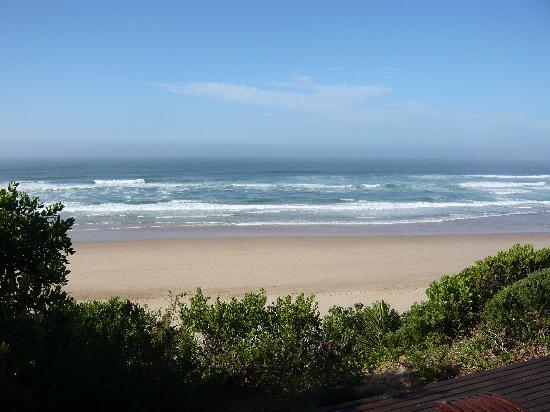 Dune Guest Lodge: Blick von der Terasse auf den Ozean