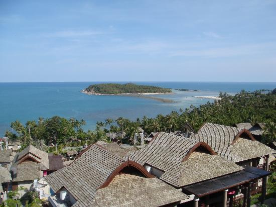 Bhundhari Spa Resort & Villas Samui: View from Villa Pool