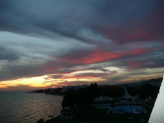 SENTIDO Le Sultan: Superbe coucher de soleil
