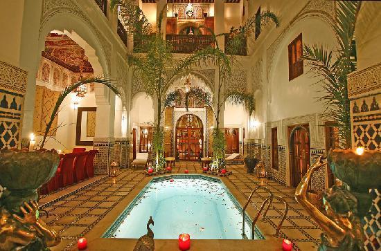 Riad & Spa Esprit du Maroc: Un palais du XVIII , calme luxe et raffinement..