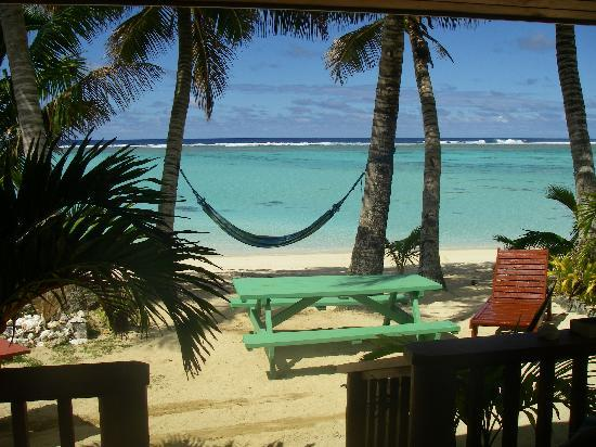 Bella Beach Bungalows: Blick von unserer Veranda