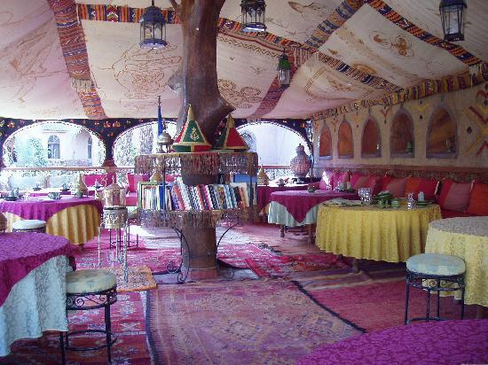 Riad Lamane : restaurant T.