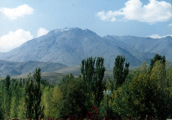 Hamadan, Irán: Alvand mountains