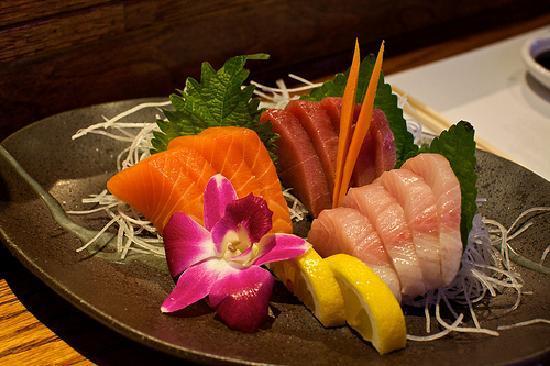 Yanagi Sushi & Grill: Sashimi at Yanagi!  Pismo Beach, CA.