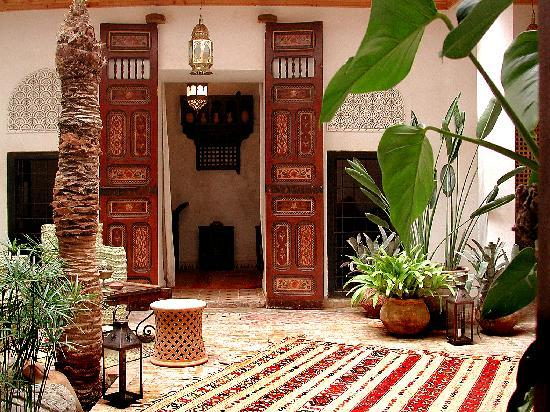 Riad Aladdin: Patio