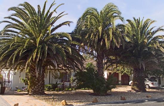 3 Palms Luxury Cottage: 3 Palms front side