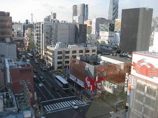 Yamatoya Honten: View from the room - you can actually open the window!
