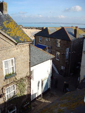 The Anchorage B&B St Ives : View from top floor room