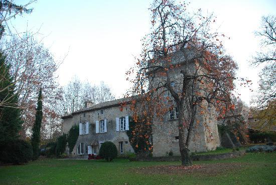 Château Beaupré Deleuze : back of the chateau