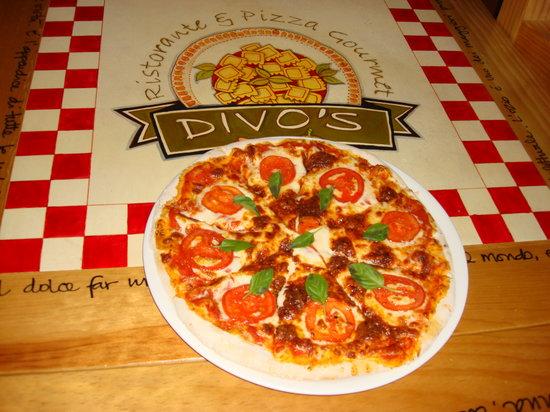 O Sole Mio: Pizza Margherita