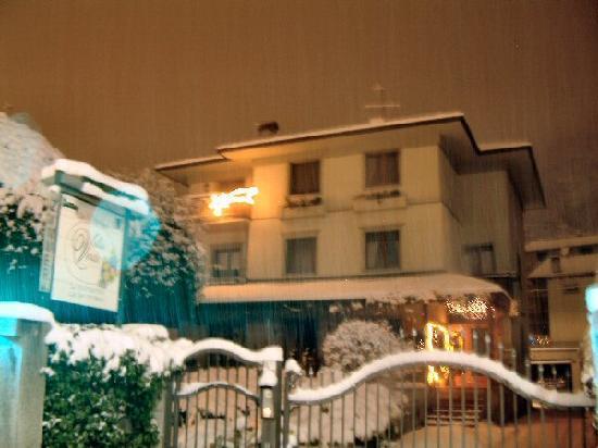 Grosio, Italia: Villa Verde in inverno