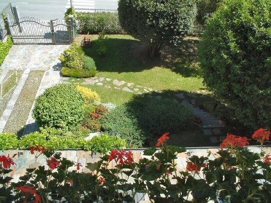 Grosio, Italie : Villa Verde - giardino