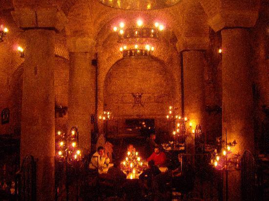 Sarnic Restaurant: Interior of Sarnic
