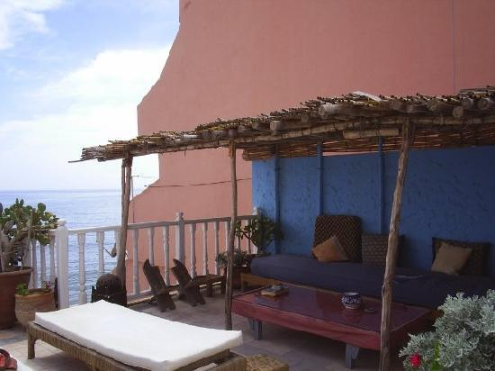 Surf Maroc Taghazout Villa: Upper balcony