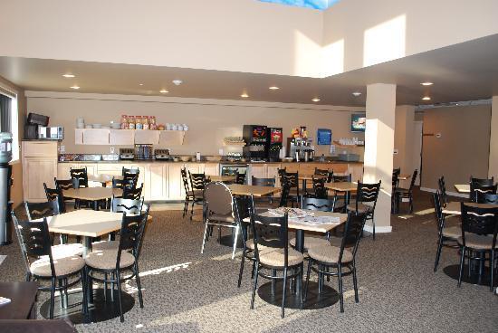 BCMInns - Hinton : Continental Breakfast Area