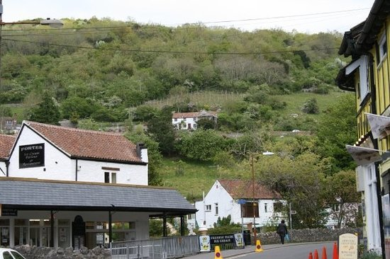Cheddar Gorge and Village
