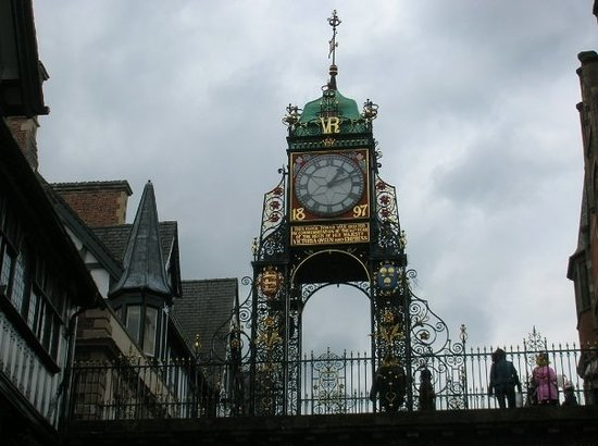 Честер, UK: Chester clock