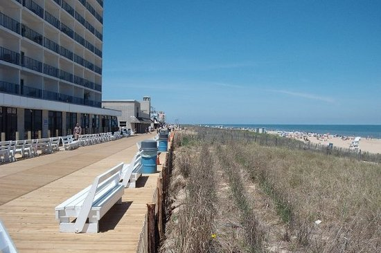 Rehoboth Beach, DE : May 20, 2009 RB new Boardwalk
