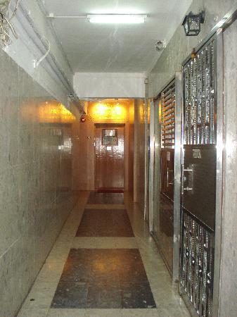 Golden Crown Guesthouse : hallway