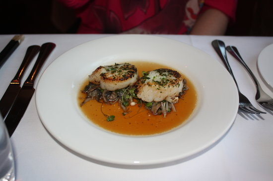 Stillwater River - my devine seared scallops