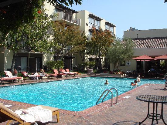 Sheraton Palo Alto Hotel: 内庭とプール