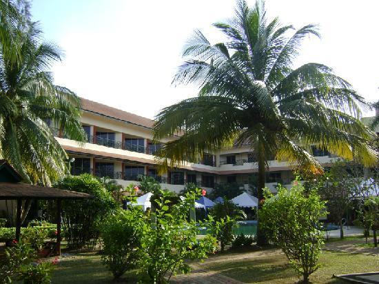 The Qamar Paka, Terengganu: View from the pool