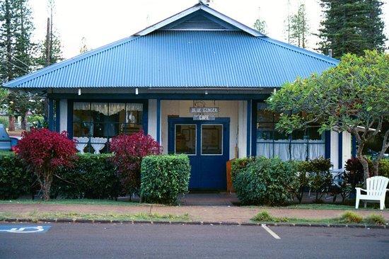 Blue Ginger Cafe Lanai Menu
