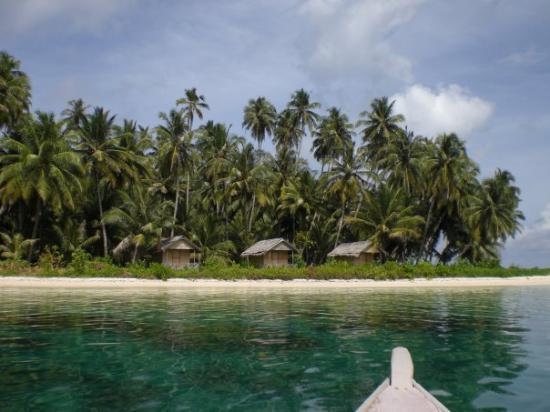 Pulau Bayak (Pulau Tailana)Sumatra, Indonesien
