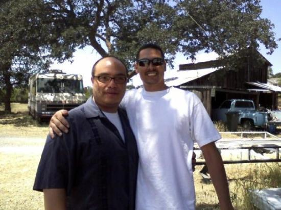 Burson, CA: Me and Keith