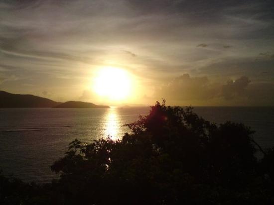 Necker Island: First Necker Sunset
