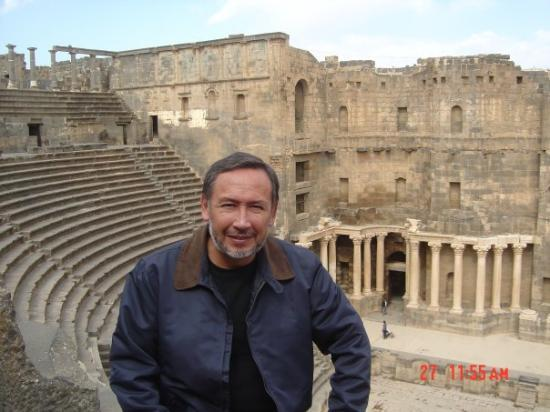 En el anfiteatro de Bosra