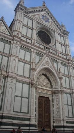 Piazza Santa Croce: santa croce. our church