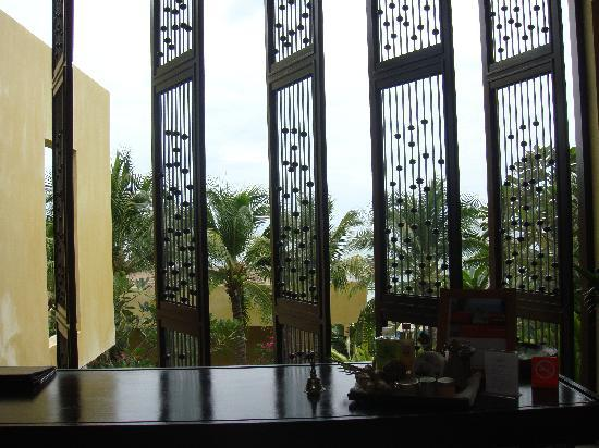 New Star Beach Resort: view from the spa