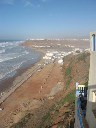 Sidi Ifni, Marokko: view from Hotel Bellvue