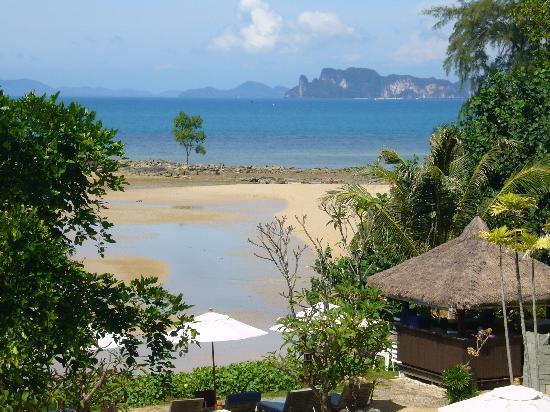 นาคามันดา รีสอร์ท แอนด์ สปา: View from the dining area