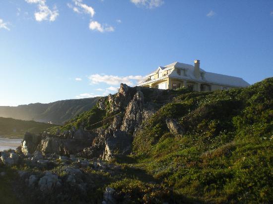 Birkenhead House: House vom Meer aus