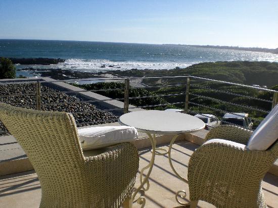 Birkenhead House: Blick von der Villa auf die Bay