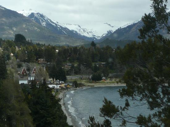 Charming - Luxury Lodge & Private Spa: vista de nuestra habitación