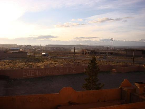 Kasbah Asmaa: View from our room