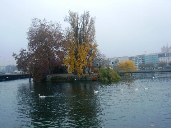 Geneva, Switzerland: Vista del Lago