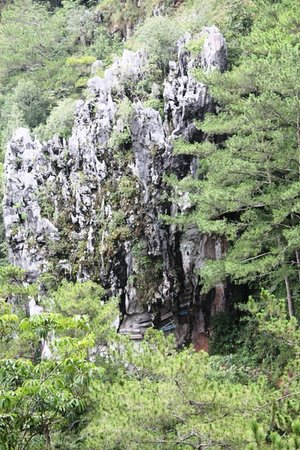 Sagada, Filippinene: the remains