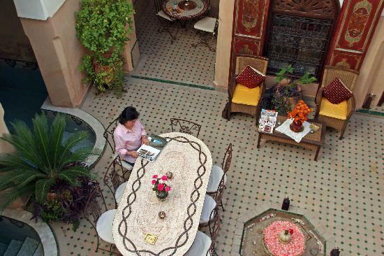 Riad Anabel: der romantische Innenhof