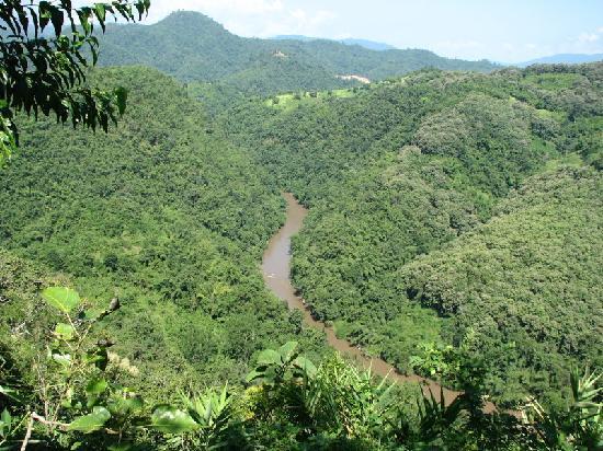 The 3 Sis: Kok River, view from Tha Ton peak