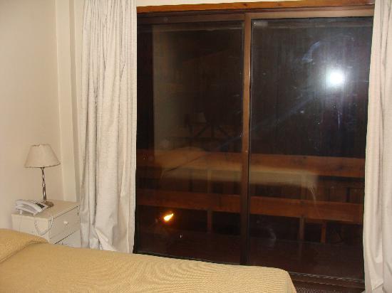 Soft Bariloche Hotel: Balcon de la habitacion matrimonial