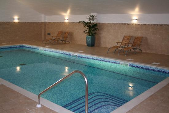 Heated indoor pool picture of overton grange country hotel ludlow tripadvisor for Ludlow hotels with swimming pool