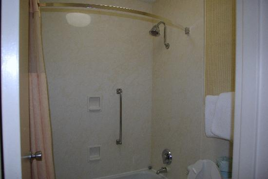 Chestnut Tree Inn Cherokee: Bathroom was pretty small.