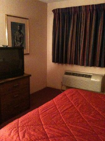 Comfort Inn Manistique: Bed, Air Conditioner, TV