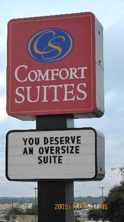 Comfort Suites : You deserve an oversized Suite