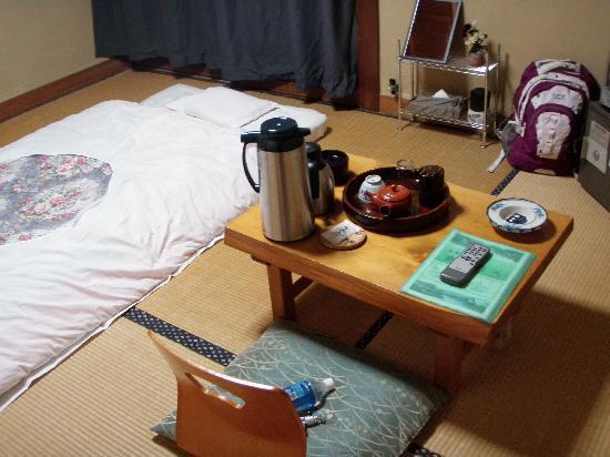 Ryokan Fujioto: Room for one