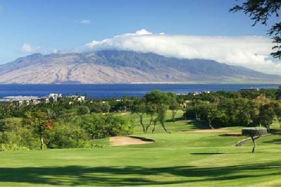Wailea Old Blue Course: Pacific Ocean View